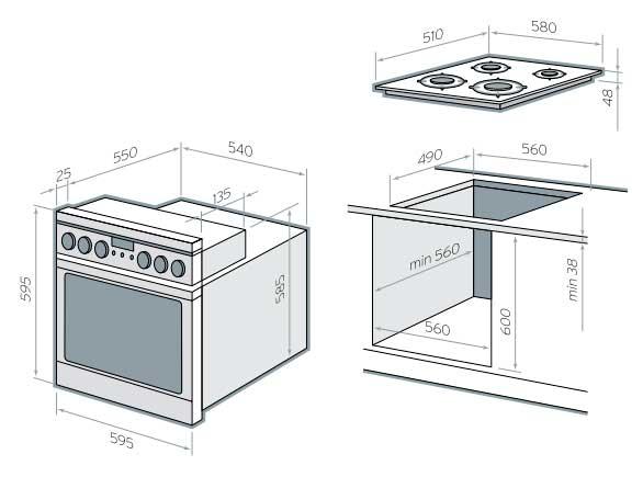 Духовой шкаф электрический встраиваемый своими руками